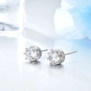 Women sterling silver stud earrings
